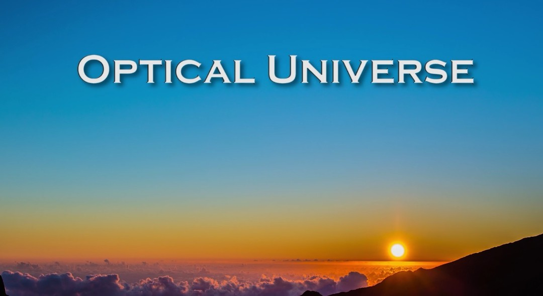 The Optical Universe